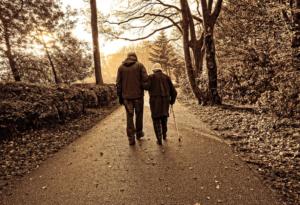 caminhar com apoio