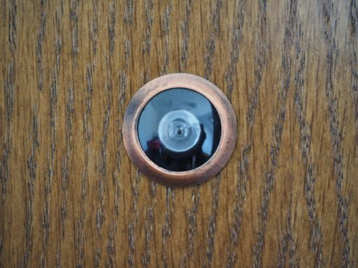 Olho mágico privacidade